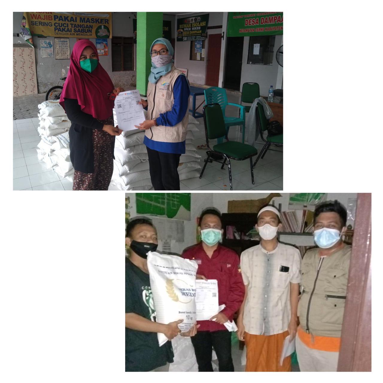 Pensosmas Jatim dan Pendamping PKH Dampingi Distribusi Bantuan Sembako Kemensos