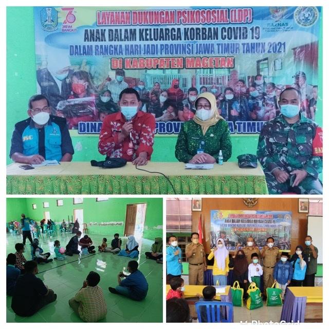 Dinsos Jatim Laksanakan LDP Tahap II di Kabupaten Madiun dan Magetan