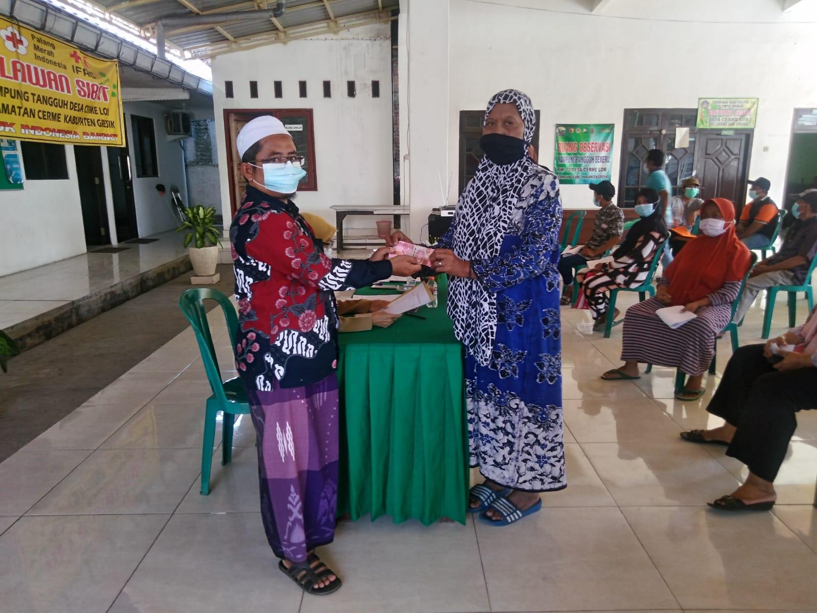 Pensosmas Jawa Timur Dampingi Penyaluran Bantuan untuk Anak Yatim dan Janda Miskin