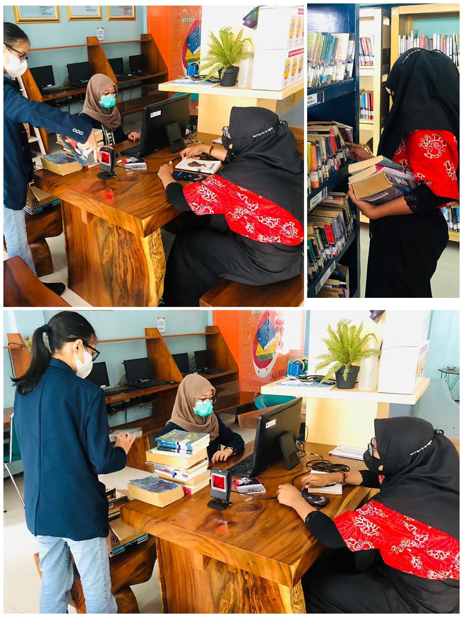 Tingkatkan Minat Baca, UPT PSBR Jombang Fasilitasi PM Pinjam Buku di PDPK