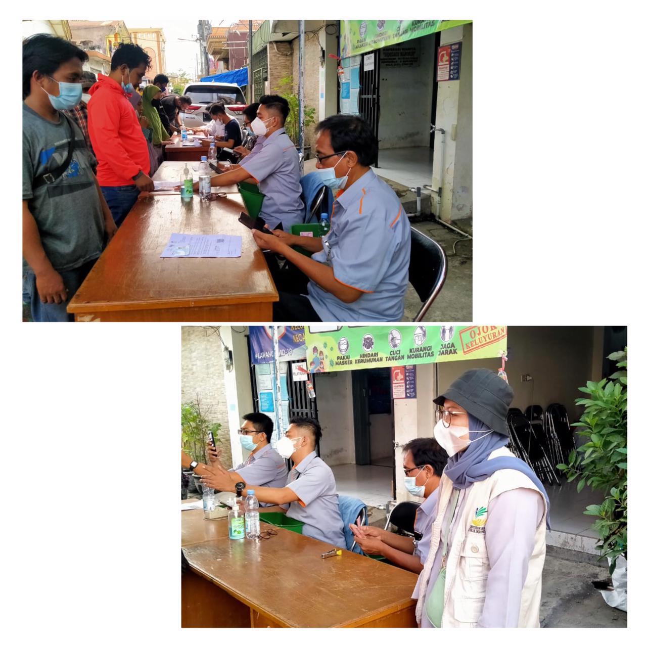 Pencairan BST, Pensosmas Sidodadi Surabaya Dampingi Warga