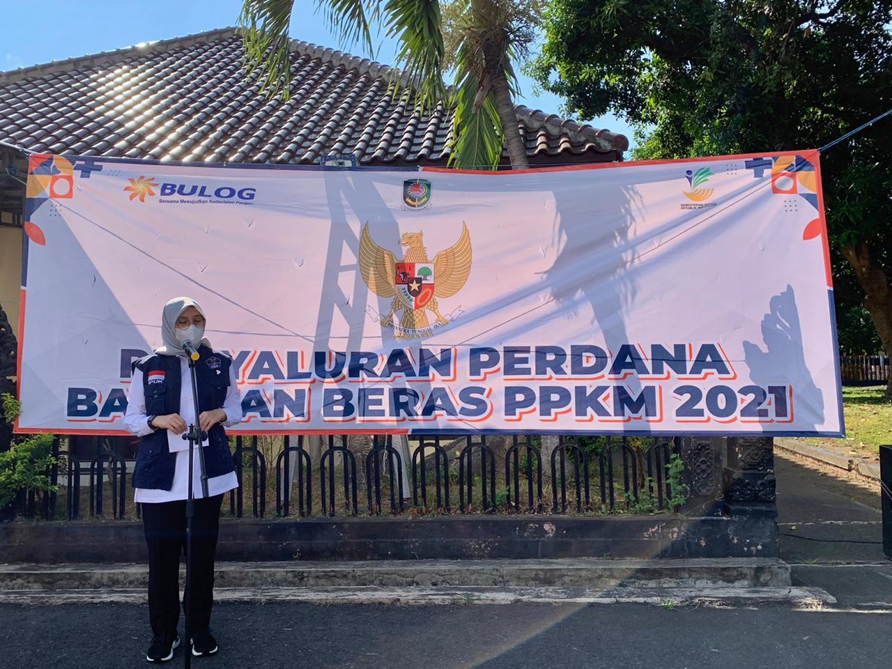 PPKM, Pemkab Banyuwangi Salurkan Bansos Beras kepada 119 Ribu KPM