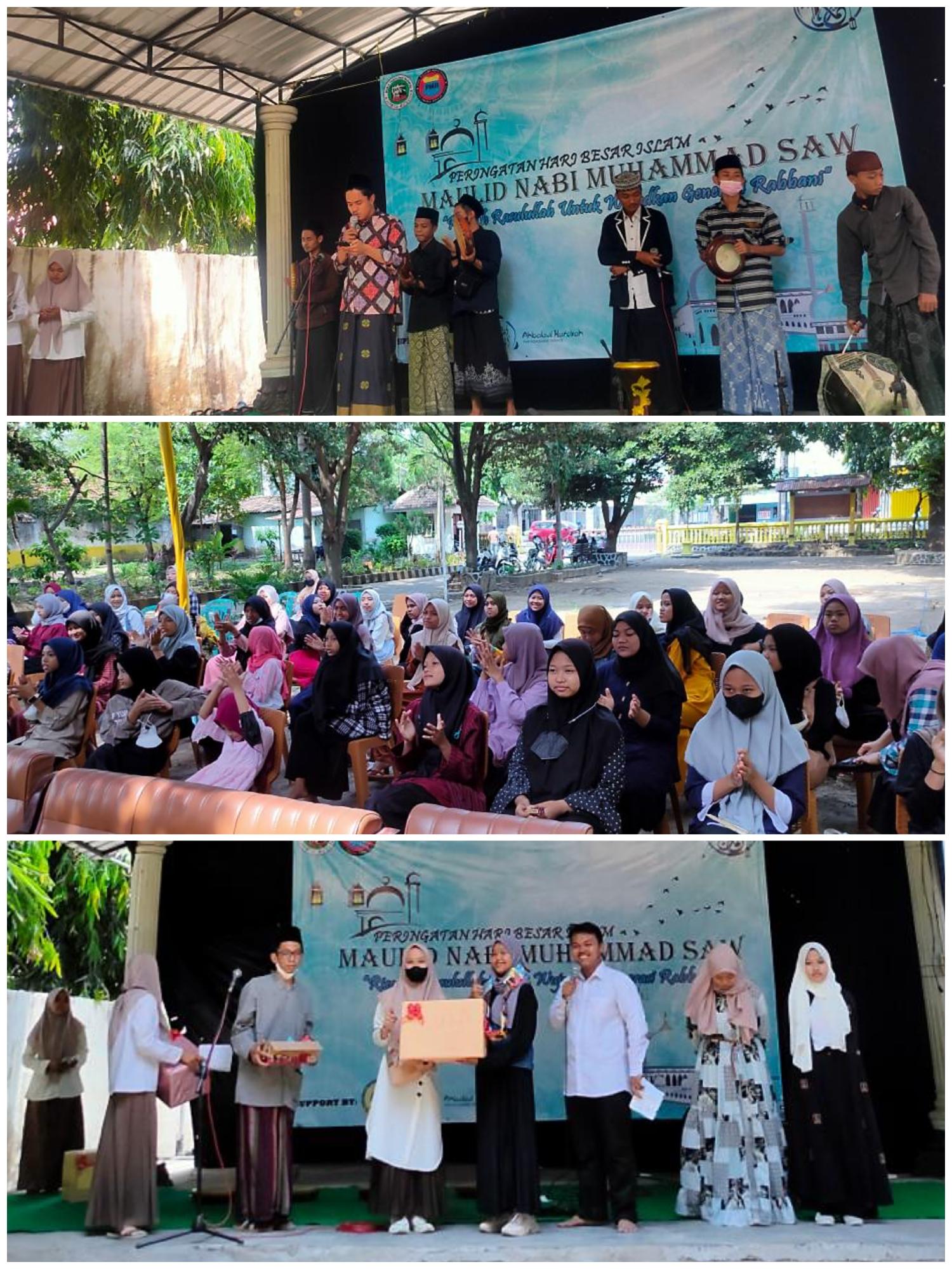 BEM Fakultas Dakwah IAI Tribakti Kediri Gelar Peringatan Maulid Nabi Muhammad SAW bersama UPT PPSAA Trenggalek